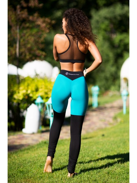 Спортивный комплект Yoga Tender Emerald Net